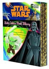 STAR WARS LITTLE GOLDEN BOOK COLLECTION Box Set 6 Hardcover Books HC
