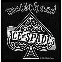 """MOTORHEAD - """"ACE OF SPADES"""" - WOVEN SEW ON PATCH"""