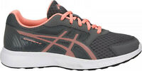 ASICS Stormer 2 GS Carbon Begonia Pink White Running Trainers Size 37.5  UK 4