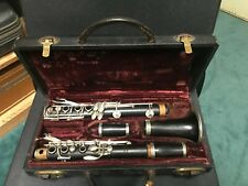 Vintage F. Loree Clarinet in B-flat, Full Boehm System