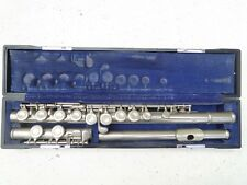VINTAGE Yamaha Silver YFL-23 Concert Flute Made In Japan Student Model 1980's