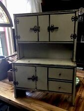Antique Vintage Child's Kitchen Houiser Cupboard Salesmen Sample
