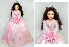 "22"" Quinceanera Dolls - 15 Dolls - Spanish Dolls - Pink Dress ( Qdoll22 ^)"