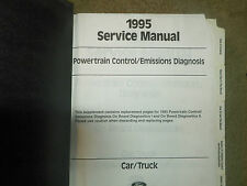 1995 Ford Emissions Diagnosis Powertrain Control Service Manual