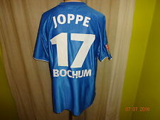 "Vfl bochum nike matchworn camiseta 2002/03 ""DWS nº 1 en fondo"" + nº 17 Joppe talla L"