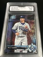 Willy Adames 2017 Bowman Chrome Mega Prospects Rookie Card Graded 10 💎 MT