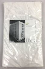Nordstrom At Home Aria King Pillow Sham White Ruched Cottage Style New $45 Msrp