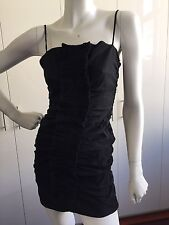 D&G DOLCE AND GABBANA VINTAGE LITTLE BLACK DRESS XS 42 USED VERY GOOD CONDITION
