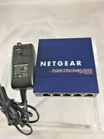 Netgear ProSafe GS105 5-port Gigabit Desktop Switch  *Fast Ship*   C3