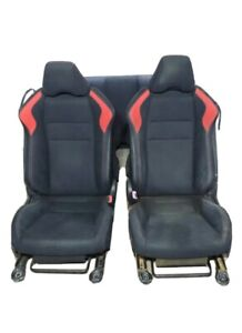 2014 Frs Toyota 86 Black And Red Fabric 2 Car Seats
