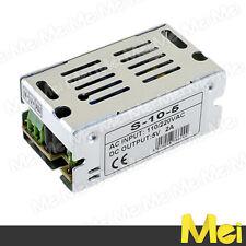 H502 alimentatore PROFESSIONALE switching 5V 2A 10W da interno stabilizzato