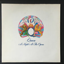 Queen - A Night At The Opera - 1975 GT Britain - EMI - EMTC 103 - Vinyl LP