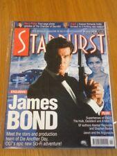 STARBURST #290 BRITISH SCI-FI MONTHLY MAGAZINE SEPTEMBER 2002 JAMES BOND