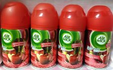 4 AIR WICK FRESHMATIC REFILL SPRAY APPLE SHIMMERING SPICE AIRWICK REFILLS