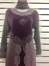 Muslim Women's Dresses Clothing Abaya Kaftan Dubai Turkish Pakistani Dress