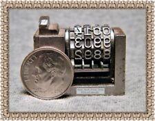 WETTER / ATLANTIC NUMBERING MACHINE, PRINTER'S INSERT, REVERSE, SKIP-ONE