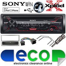 Vauxhall CORSA 00-04 CDX-G1200U CD MP3 USB AUX IN CAR radio stereo Refurb ARGENTO