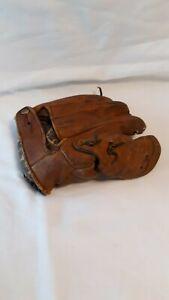 Vintage Wilson Baseball Glove Ball Hawk RHT 4 Finger 1947 Model A 2190