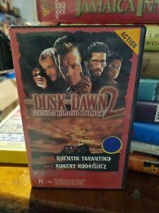From Dusk Till Dawn 2 Texas Blood Money VHS