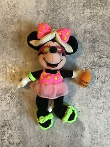 Disney Minnie Mouse Beanie Plush pink And Green Swimsuit Sunglasses Hat