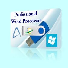 Pro Word Processor Software for Microsoft Windows 10 8 7 XP doc 2010 2013 2016