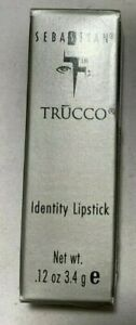 SEBASTIAN TRUCCO IDENTITY LIPSTICK, New In Box Choose Your Color!
