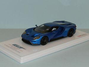 TSM 1/43 2015 Ford GT N American International Auto Show Blue  MiB
