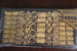 Mediterranean Baklava - Handmade & All Natural - Cashew and Pistachio 35.3oz