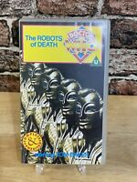 Doctor Who: The Robots Of Death -Vhs- Tom Baker