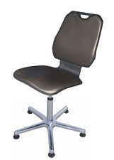 Stuhl XXL Modell 8345 für schwere Personen bis 160 kg, mit Gleitern, Polster