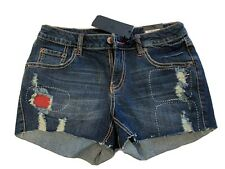 Poetic Justice Jean Shorts Womens Size 28