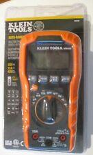 Klein Tools Mm400 600v 10a Auto Ranging Digital Multimeter Brand New Sealed