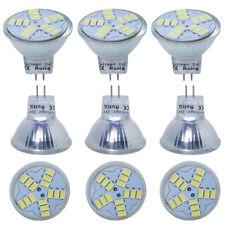 12/10/4 x MR11 éconergétiques lampe LED Ampoules 4W = 25W GU4 Spotlight DC12V