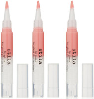 Stila Lip Glaze, Grapefruit, 0.08 oz - Full Size, Brand New (3 Pack)