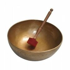 Tibetan Singing Bowl 12 inch  Meditation Chakra Therapy Hand made + Free Book