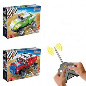 Building Bricks Construction Toys Super Cars with Remote Control Blocks Car