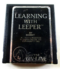 Commodore 64/128: LEARNING With LEEPER- C64 Cartridge - tested - FREE Shipping