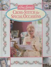 """Hard Covered Book- """"Cross-Stitch for Special Occasions"""" -Alma Lynne's-GentlyUsed"""