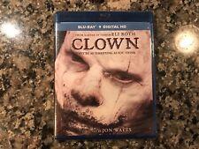 Clown New Sealed Blu-Ray! 2014 Slasher! Also See Clownhouse & Stitches & Killjoy