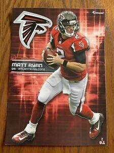 MATT RYAN 2017 Atlanta Falcons uni w/ Logo Fathead Mini L@@K Card #2