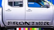 Nissan Frontier Vinyl Decal Sticker Graphics Sport Side Door x2 ANY COLOR - 091