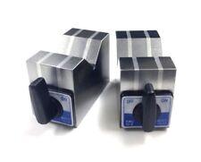 2 X 2 12 X 2 34 Aluminum Cast Magnetic V Block Set 3402 0890