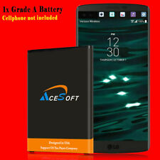 For Lg V10 Battery Replacement Extended High Capacity 4420mAh Verizon Cellphone