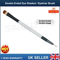 Professional Brush - Double-Ended Eye Shadow Eyeliner - Thin for Gel / Powder
