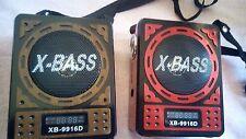 Radio with USB/SD MP3 with rec Play,MIC INPUT Waxiba Radio (XB-9916D)-(XB-819RE)