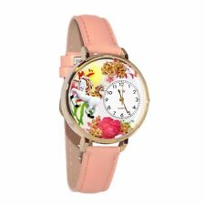 Whimsical Watches Women's G1610002 Unicorn Pink Leather Watch