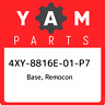 4XY-8816E-01-P7 Yamaha Base, remocon 4XY8816E01P7, New Genuine OEM Part