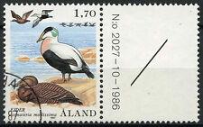 Les îles d'Aland 1987 SG # 25, 1m70 oiseaux utilisés #A 83881