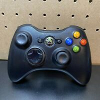 Microsoft Xbox 360 (1403) Wireless Remote Controller Black Microsoft X853164-013