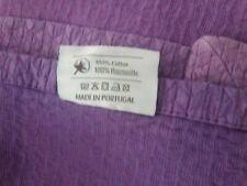 Urbanara Purple Throw Blanket 260 x 260 cm